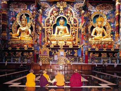 BuddhisT Golden Temple, Coorg, Karnataka(1)