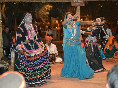 Traditional-Dance-Performance-At-Chokhi-Dhani
