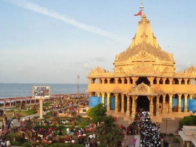 jr-somnath-32 A view of the Somnath Temple in Gujarat.