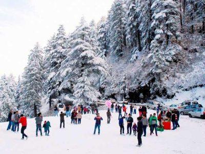 kufri-snowfall